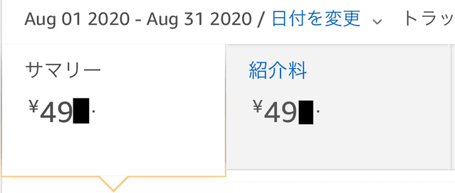 2020年8月損益報告