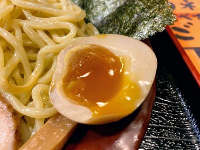 伊勢海老つけ麺 味玉