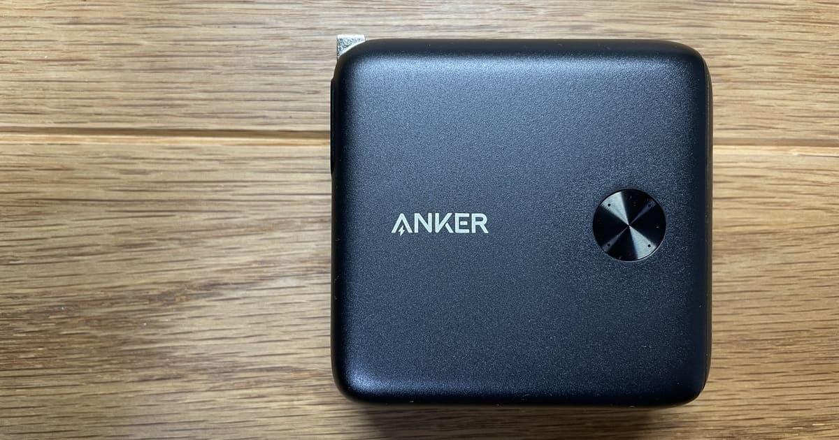 モバイルバッテリー Anker